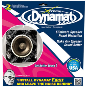 Free Dynamat Speaker Kit With Every Set Of JL Audio Speakers