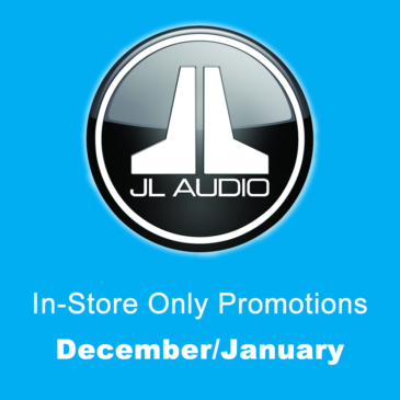 JL Audio In-Store Only Promotions – December (expired)