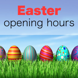 Easter Bank Holiday Opening Times