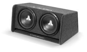 JL Audio CP210-WØv3 - Twin 10W0v3 Subwoofer Enclosure (Ported)